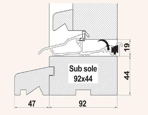 Optional 44m Sub Sole