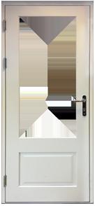 Part Glazed Plain Panel